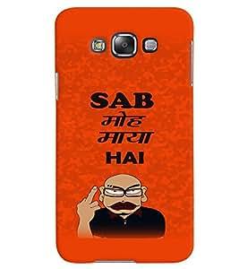 Fuson Premium Sab Mooh Maya Hai Printed Hard Plastic Back Case Cover for Samsung Galaxy Grand Max