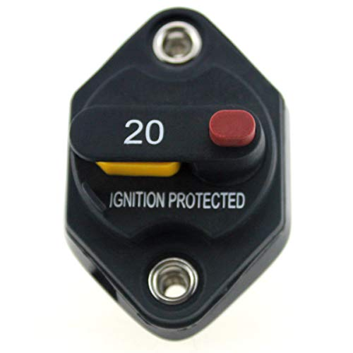 Forspero F1665-20A 20A Manueller Reset Switchable Mid-Range Circuit Breaker -