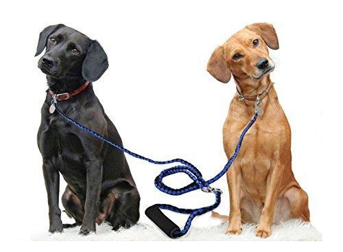 double-dog-leash-coupler-training-lead-14m-56-inch-length-nylon-braided-no-tangle-pet-belt-coupler-s