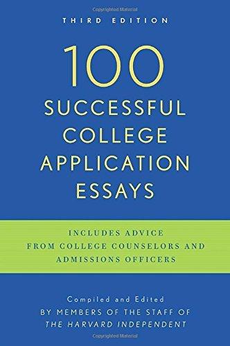 100 Successful College Application Essays (2013-07-31)