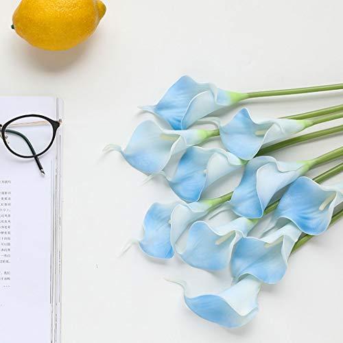 10 unids Tulipanes Artificiales Tulipanes Flores Reales Falsas para la decoración de la Boda del Partido...