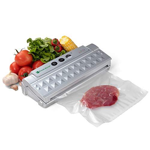 Freshworld tvs macchina per sottovuoto alimento durevole e professionale più sacchetti termosigillabili in omaggio