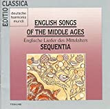English Songs the Middle Ages [Import USA]