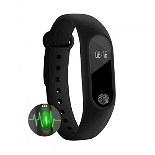 VASA M2 Fitness Band Smart Bracelet Fitband Band With Heart Rate Monitor OLED Display Bluetooth 4.0 Waterproof...
