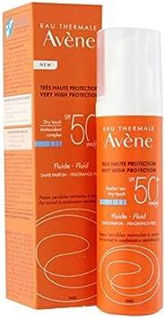 Avene Dry Touch SPF 50 Fluid Fragrance Free Very High Protection Sunscreen