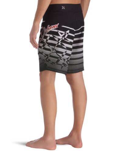 Oxbow Toddy Boardshort rayures placées homme Noir