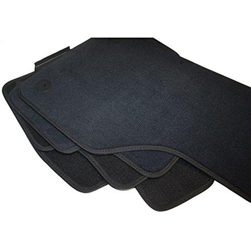 Preisvergleich Produktbild Skoda Octavia III Fußmatten Textil Velours 4-teilig SET graphit Limousine Kombi Scout