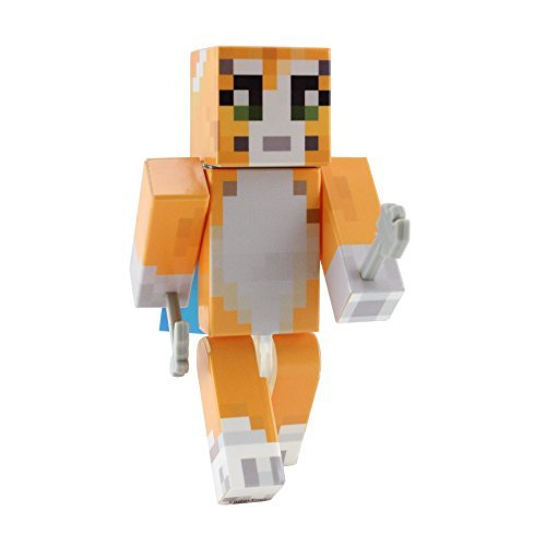 EnderToys Orange Cat Action Figure Toy by [Not an Official Minecraft Product] ()