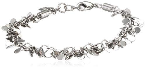 Tommy Hilfiger Fine Core Damen Armband Edelstahl Silber 17,5 - 19,5 cm