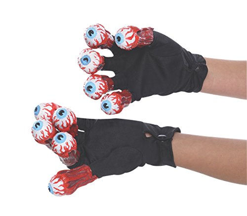 Beetlejuice Gloves with Eyes Standard