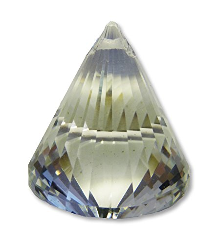 FindSomethingDifferent Sun Catcher Crystal Cone AAA Quality 4.2 x 5.3 cms