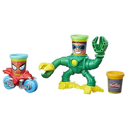 Play-Doh MVL Spiderman vs. Doc Ock Set (Spiderman Play-doh)