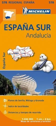 Mapa Regional Andalucía (Carte regionali) por Vv.Aa