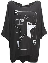 Emma & Giovanni - T-shirt Etoile Manche Courte - Femme