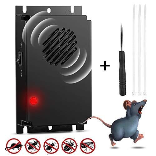 isimsus Mäuseabwehr, Rattenabwehr mit Ultraschall schädlingsbekämpfer Batterie, mäuse vertreiben schädlingsvertreiber für Haus, Keller, Garten, Mäuse und Ratten vertreiben ohne Chemie und Mäusefalle