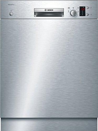 Bosch Serie 2 SMU25AS00E Autonome 12places A+ lave-vaisselle - Lave-vaisselles (Autonome, Acier inoxydable, Taille maximum (60 cm), Acier inoxydable, boutons, Rotatif, 12 places)