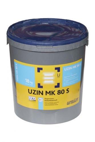 Uzin MK 80 S NEU, Dispersions-Parkettklebstoff, 18kg