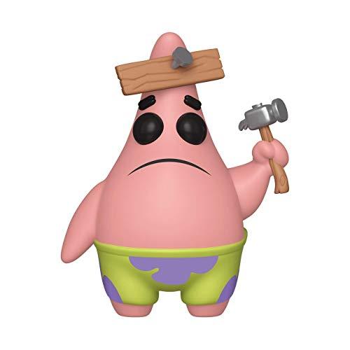 yl: Spongebob Squarepants S3: Patrick w/Board Sammelbares Spielzeug, Mehrfarben ()