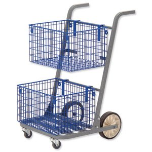 GoSecure Major Mail Trolley Silver