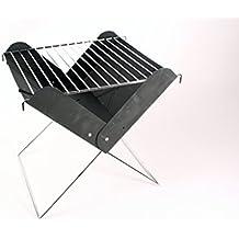 Parrilla plegable, Mini Barbacoa para camping, picnic, de carbón