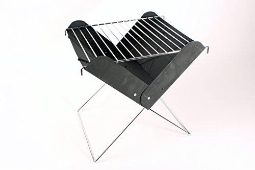 Galleria fotografica BBQ Mini Richiudibile Pieghevole barbecue pieghevole campeggio picnic barbecue a carbone