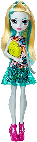 Monster High FJJ17 Basis Puppe Lagoona (Monster High Kleid)