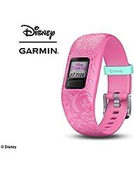 Garmin vivofit Jr. 2 - Disney Princess Activity Tracker for Kids - Adjustable Band - Pink