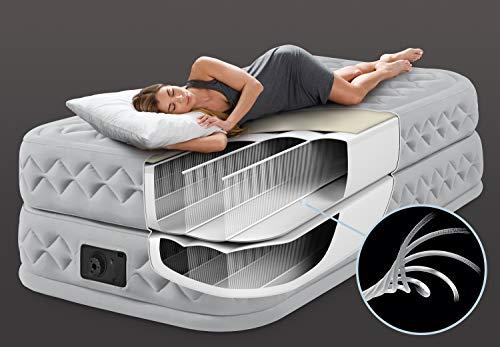 Intex – Aufblasbares Einzel-Gästebett mit Fiber-Tech-Technologie und Pumpe - 5