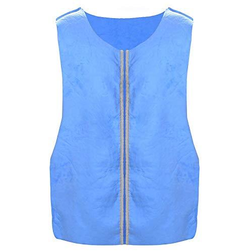 kapokilly Outdoor Sports Cooling Ice Vest, Kühlweste Cooling Cold Sense Ice Vest Schutzwesten, 200 Pfund Leicht Zu Tragen -