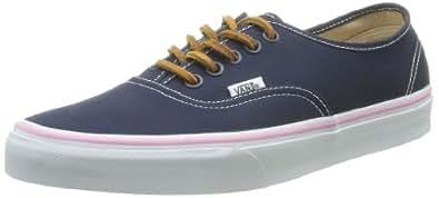 Vans U Authentic, Baskets mode mixte adulte - Bleu (Brushed Twill), 42.5 EU (9.5 US)