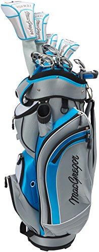 macgregor-palo-de-golf-dct-set-paquete-de-grafito-con-cartbag-golf-rh-right-hand