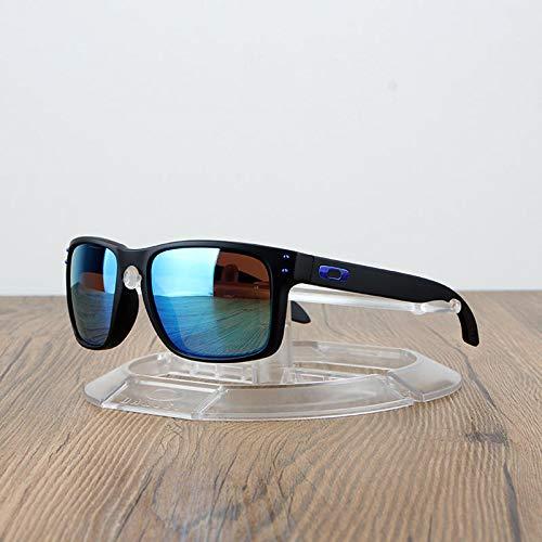 BHLTG Sonnenbrille-Art- und Weisepolarisierte Gläser beiläufige Sonnenbrille-Männer und Frauen-Farbfilm-Sonnenschutz Sunglasses-8