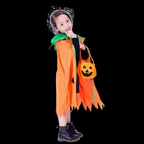 Kostüm Schatten Erwachsene Nacht Für - Tiamo Vlies-Kürbis Cosplay Halloween-Kostüm Der Kinder, Halloween-Kostüm-Abendkleid-Kostüm for Erwachsenes Unisex (Color : B)