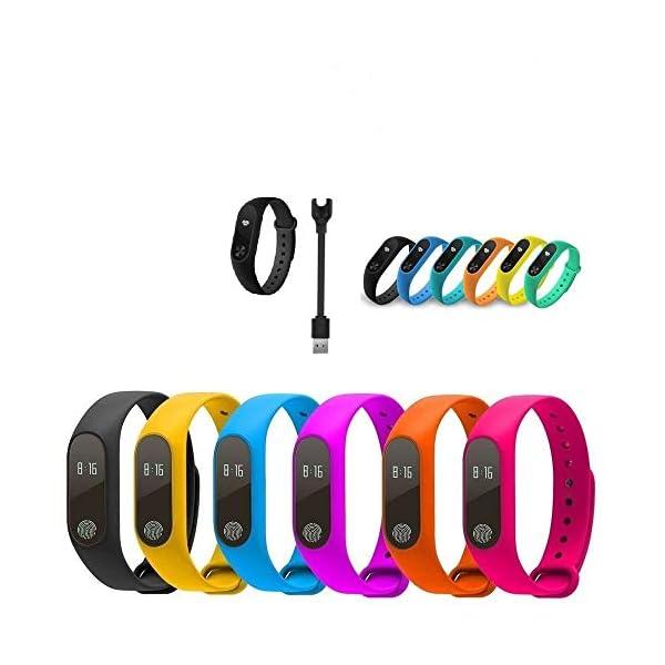 Reloj Fitness Smart Band M2 Tracker Bluetooth Frecuencia Cardiaca 3