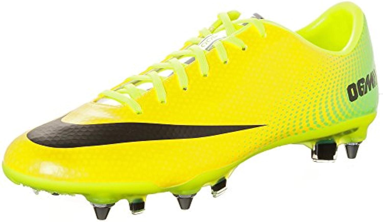 555607 703|Nike Mercurial Vapor IX SG PRO Vibrant Yellow|42 US 8 5
