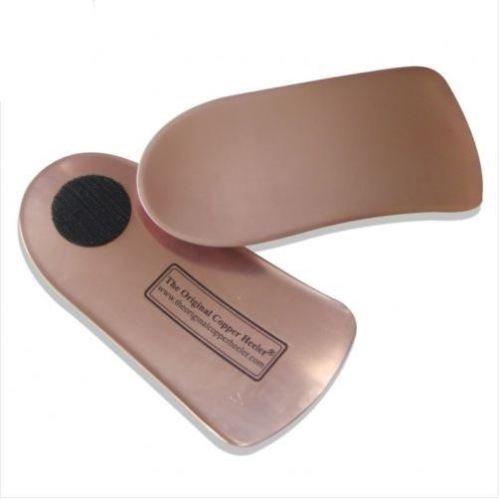 Original Copper Heeler , Semelles orthopédiques bronze cuivré
