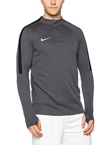 Nike Männer Squad Training Shirt Dunkelgrau/Schwarz/Weiß