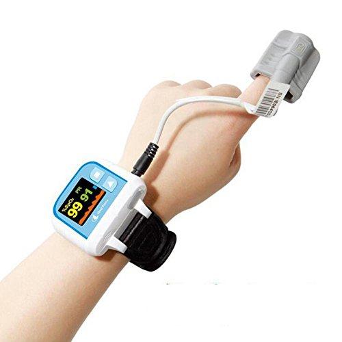 LPY-HealForce Prince-100G Handgelenk Pulsoximeter, Herzfrequenz-Messgerät, Super Anti-Interferenz, Sport / Schlaf / kontinuierliche Tests, Datenwiedergabe, Doppelter Alarm