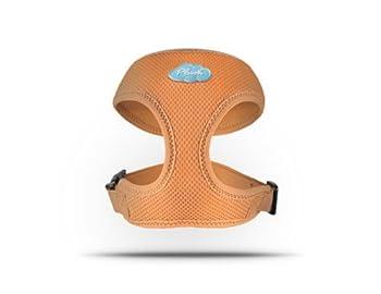 CURLI Basic Harnais Air maille orange Plush BA de Or