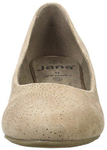 Jana Damen 22305 Pumps Beige (Sand Suede)