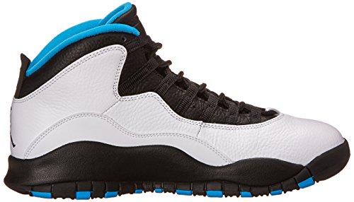 Grau Basketballschuhe Nike Retro Herren Air Jordan Blue 10 wwg1RY