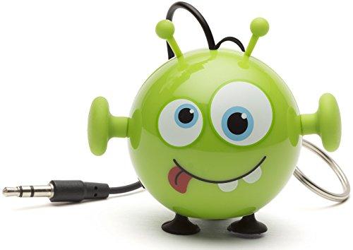 Kitsound Mini Buddy Speaker, Altoparlante Portatile Ricaricabile per iPhone, iPad, iPod, Smartphone, Tablet, Alieno