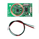 Celan EM4100 Kit de capteur de Lecture sans Fil 8 cm RFID UART 3 Broches 125 kHz DC 5 V