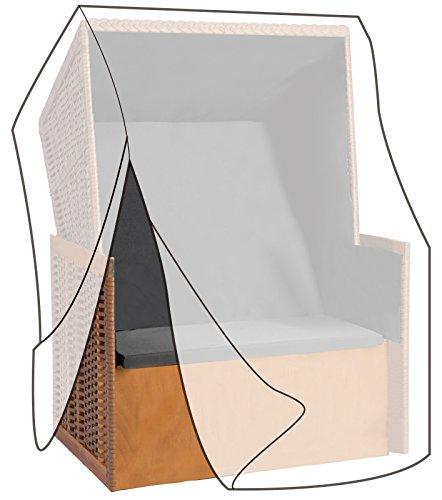 WOLTU GZ1160tp-a Housse de Protection pour Chaise de Plage résistante aux déchirures,Couverture Meubles de Jardin imperméable,135-165x125x90cm,Transparent