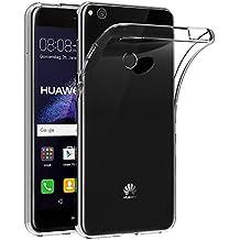 Funda para Huawei P8 Lite 2017 / GR3 2017 (5,2 Pulgadas) MaiJin Resistente a arañazos TPU cubierta de delgada capa de silicona en la parte posterior