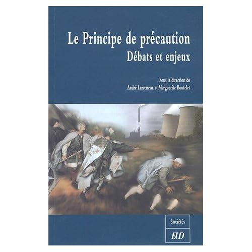 Le Principe de précaution : Débats et enjeux ; Colloque de Dijon, 4 juin 2004, Université de Bourgogne, Programme Recherche et Environnement