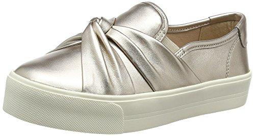Carvela Loren Np, Sneakers A Collo Basso Donna, Oro (Pewter), 35.5 EU