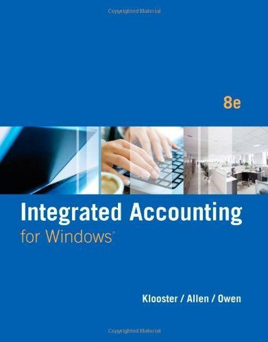 Integrated Accounting (with General Ledger CD-ROM) Paperback January 29, 2014
