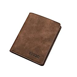 BOGESI Brown Mens Wallet