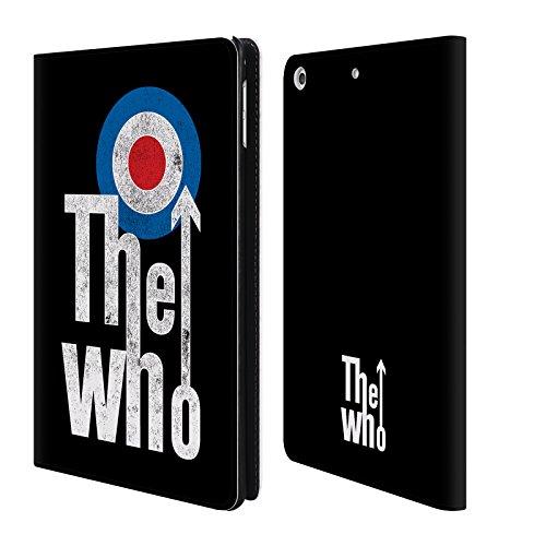 Head Case Designs Offizielle The Who Klassisches Target Logo Band Kunst Brieftasche Handyhülle aus Leder für iPad Mini 4